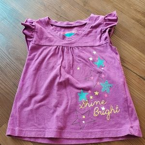 Tough Skins Shine Bright Sequined T Shirt 2T
